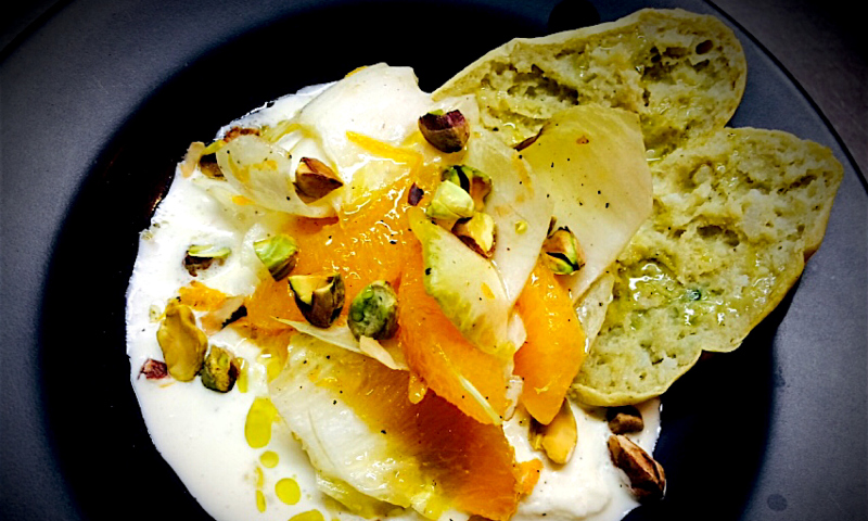 endivias mozzarella cremosa naranja